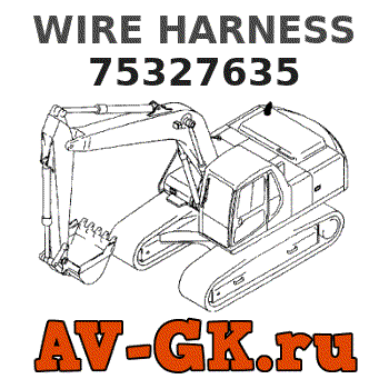 New.Holland 75327635 WIRE HARNESS